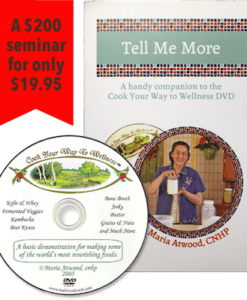 Cook Your Way to Wellness DVD/booklet