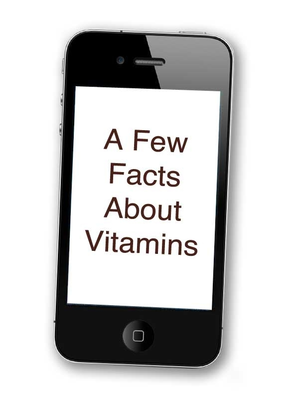 A Few Facts About Vitamins (MP3)