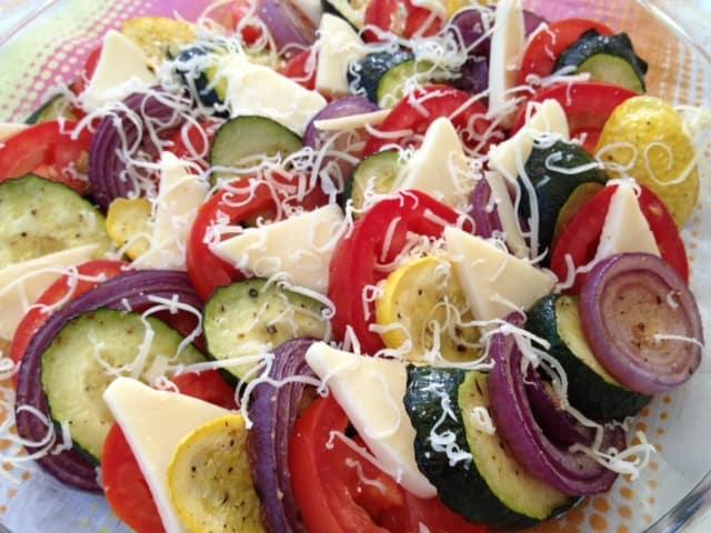 Late Summer Vegetable Gratin - Selene River Press