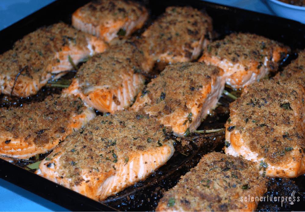 how to prepare salmon fish