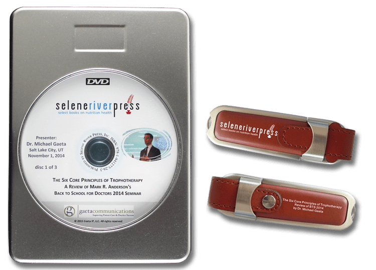 6 Principles of Trophotherapy DVD/FD