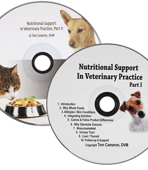 Nutritional Support in Veterinary Practice CDs